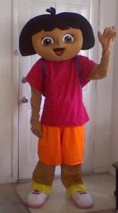 Dora Mascot Costume