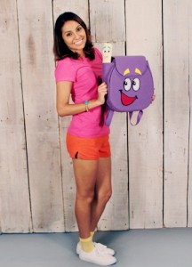 Dora the Explorer Costume Adult
