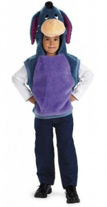 Eeyore Costume for Girls