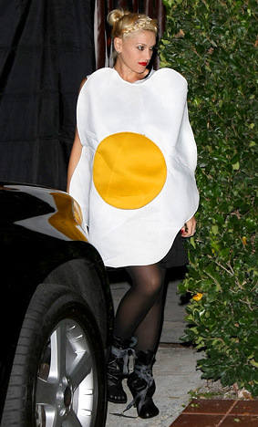 how to make egg costume at home
