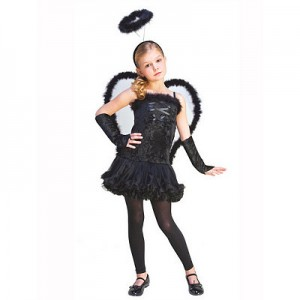 Fallen Angel Kids Costume