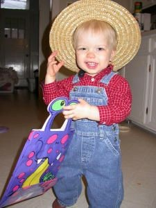 Farmer Costume for Boy