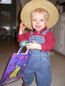 Farmer Costume for Boy