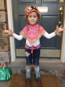 Farmer Costume for Girl