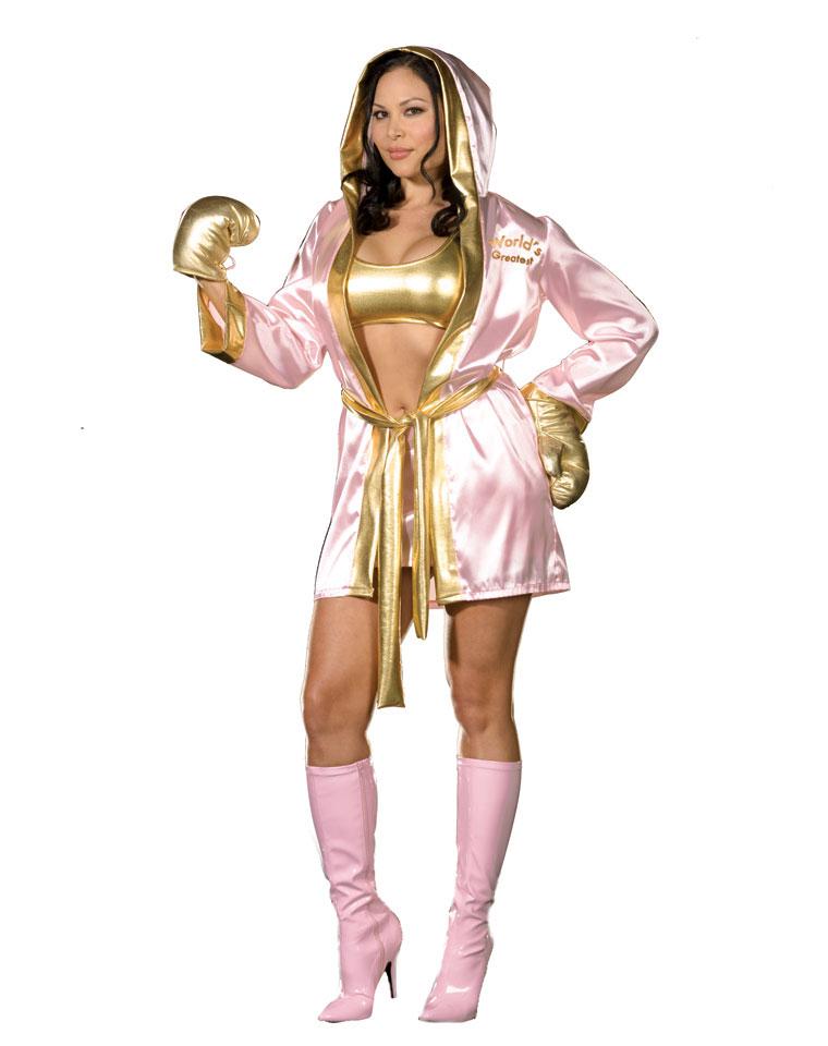 Female Boxer Halloween Costume  sc 1 st  Parties Costume & Boxer Costumes (for Men Women Kids) | Parties Costume