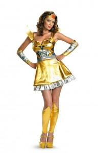 Female Bumblebee Transformer Costume