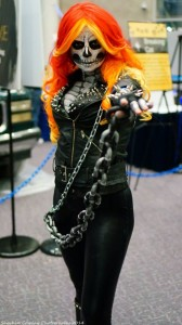 Female Ghost Rider Costume