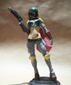 Female Jango Fett Costume
