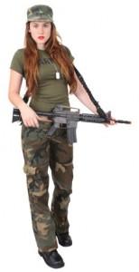 Female Soldier Costume