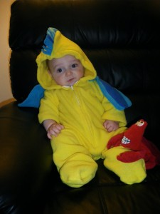 Flounder Costume Baby