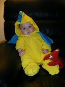 Flounder Costume Baby