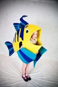 Flounder Costume Pattern