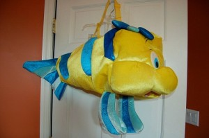Flounder Costume for Adults
