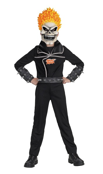 Ghost rider costumes for men women kids parties costume ghost rider costume for kids solutioingenieria Choice Image