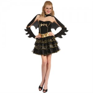 Girl Bat Costume