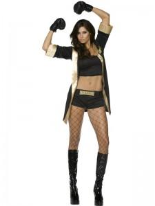 Girl Boxer Costume