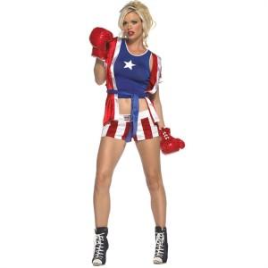 Girl Boxer Costumes