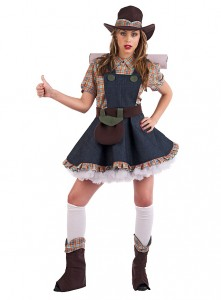 Girl Farmer Costume