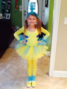 Girl Flounder Costume