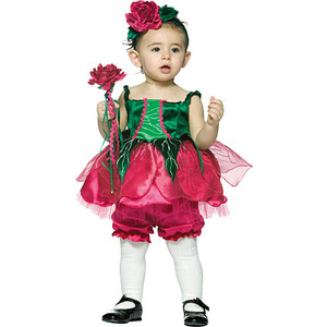 Girl Flower Costume