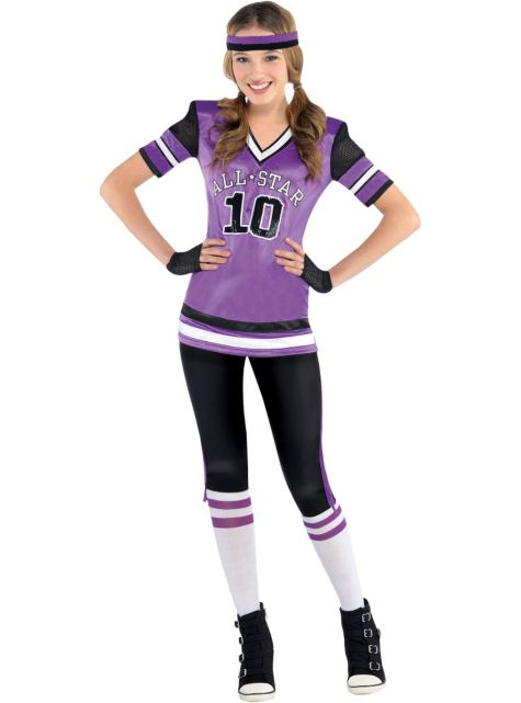 Football Player Costumes (for Men, Women, Kids) | Parties Costume