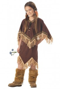 Girl Native American Costume