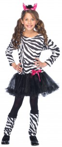 Girl Zebra Costume