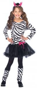 Girl Zebra Costume