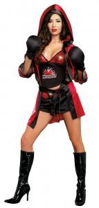 Girls Boxer Costume