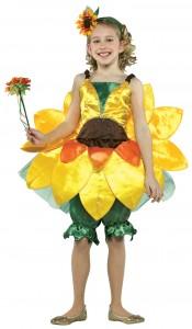 Girls Flower Costume