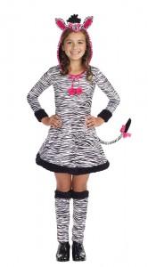 Girls Zebra Costume