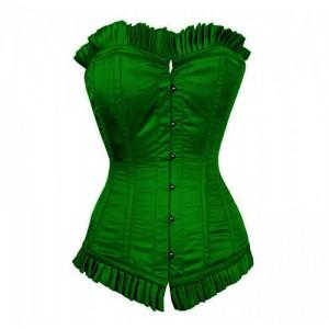 Green Corset Costume