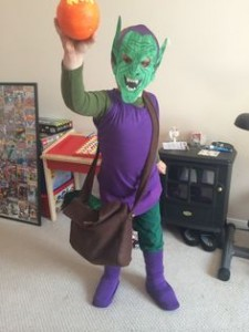 Green Goblin Costume Kids