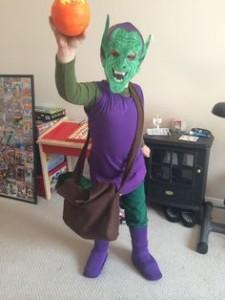 Green Goblin Costume Kids