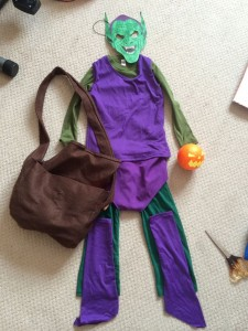 Green Goblin Costume for Kids