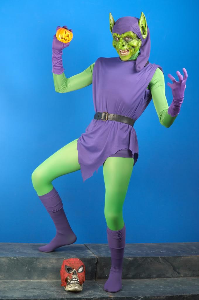 Green Goblin Halloween Costume & Green Goblin Costumes | Parties Costume