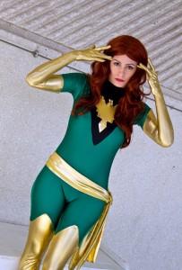Green Phoenix Costume