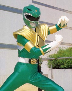 Green Power Ranger Adult Costume