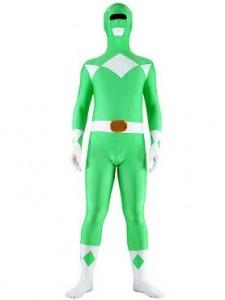 Green Power Ranger Costume Adult