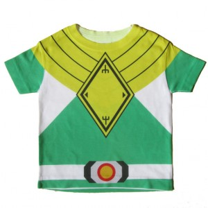 Green Power Ranger Costume Child