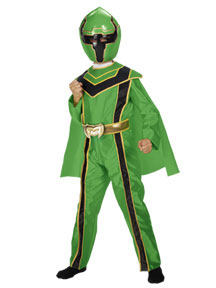 Green Power Ranger Costume Toddler