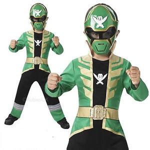 Green Power Ranger Costume for Kids