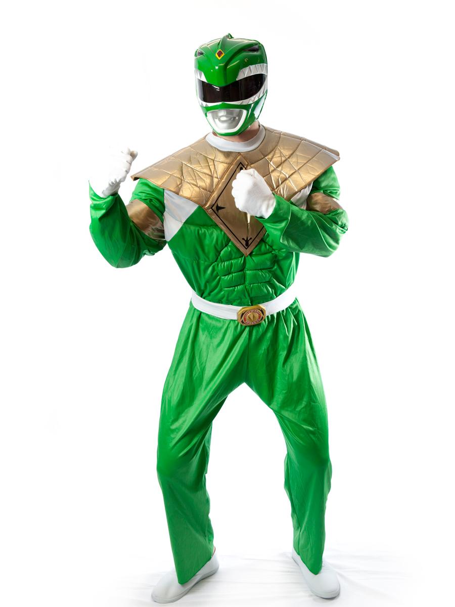 Green Power Ranger Costumes | PartiesCostume com