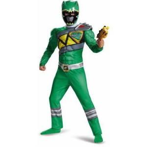 Green Power Ranger Halloween Costume