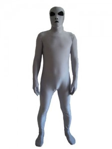 Grey Alien Costume