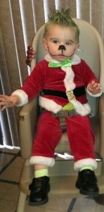 Grinch Baby Costume