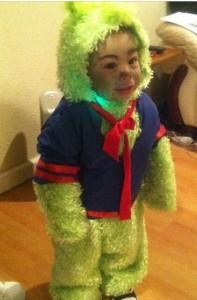 Grinch Costume Child