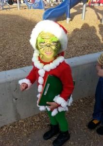 Grinch Costume Kids