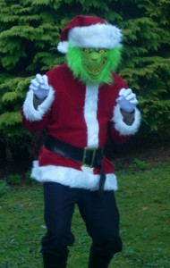 Grinch Costume Pattern