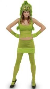 Grinch Costume Women